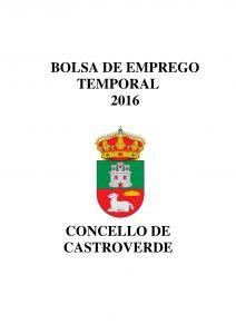 BOLSA DE EMPREGO CARTEL