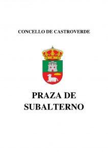 ESCUDO CONCELLO DE CASTROVERDE