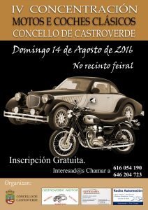 CARTEL Concentración Coches e Motos 2016