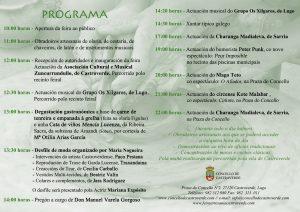 programa feira artesanía